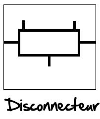 symbole disconnecteur